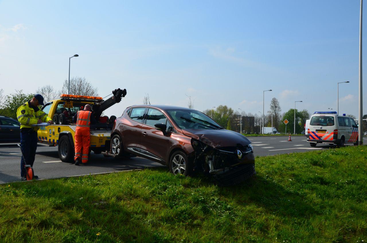 Man gewond bij ernstig ongeval