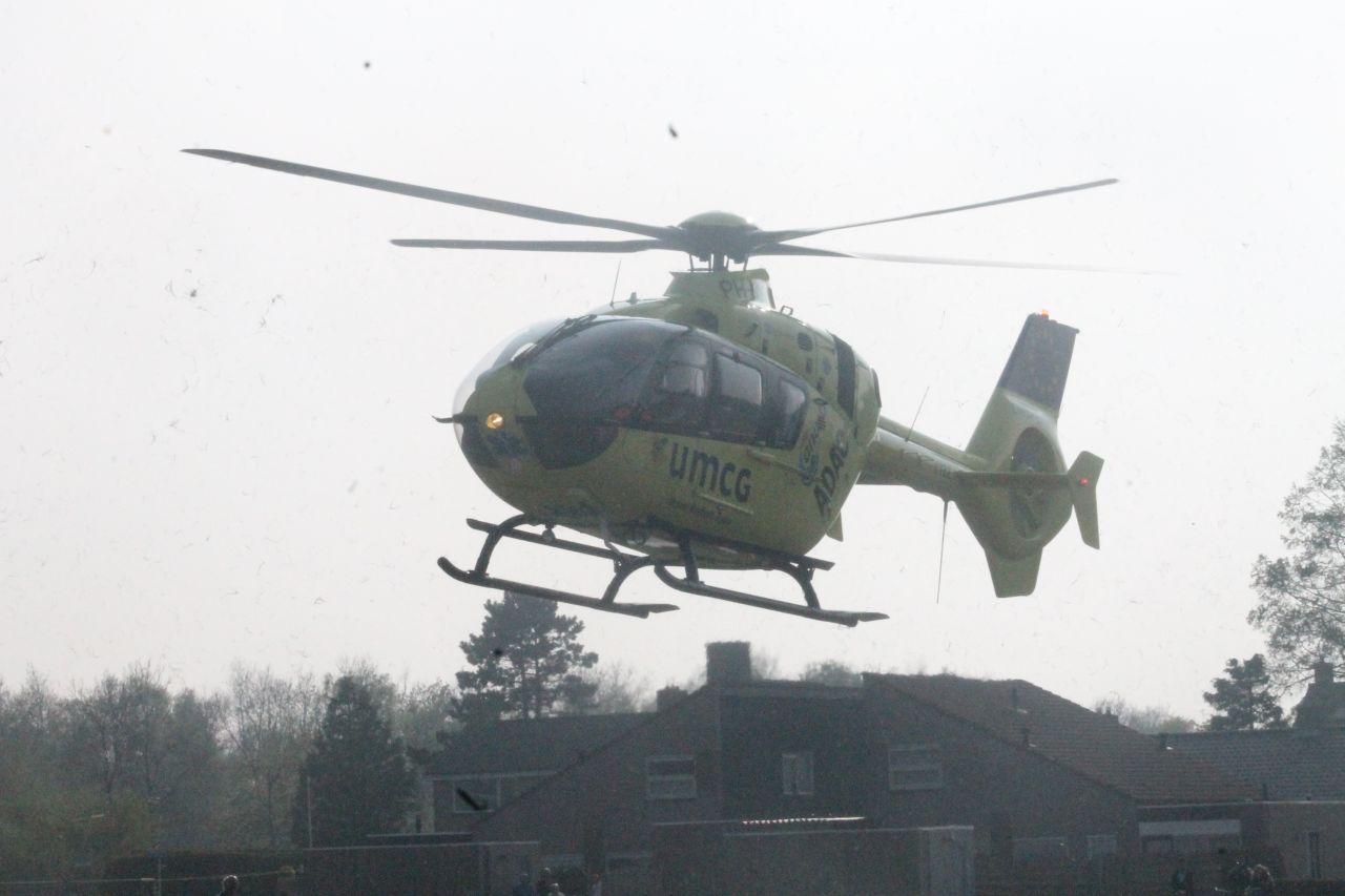 Traumahelikopter ingezet bij huisincident