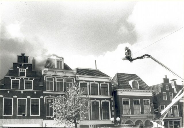 Uit de oude doos: brand verwoest Wibra in 1990