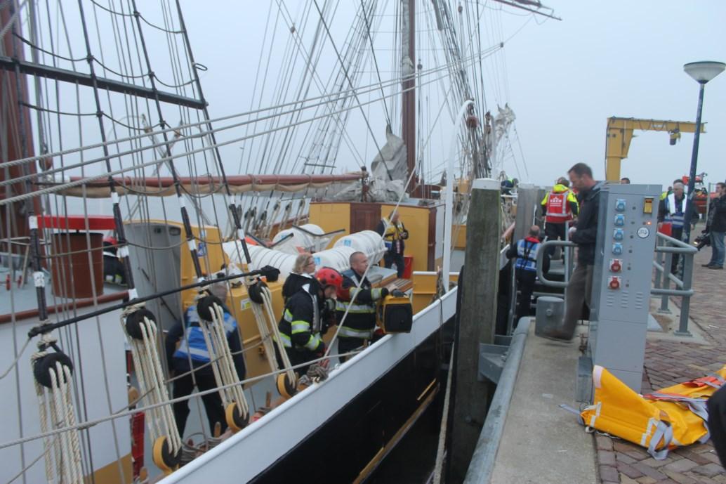 Grote rampenoefening op de Waddenzee