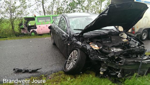 Paardentrailer betrokken bij ernstig ongeval