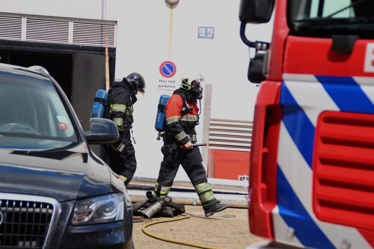 Brand tijdens werkzaamheden in schouwburg De Lawei