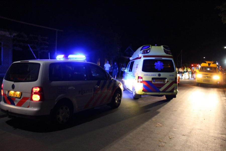 Vijf gewonden na ongeval met feestwagen [update]