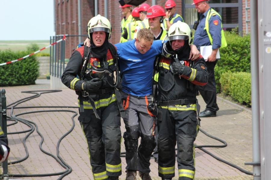 Brandweer redt meerdere mensen bij 'brand'