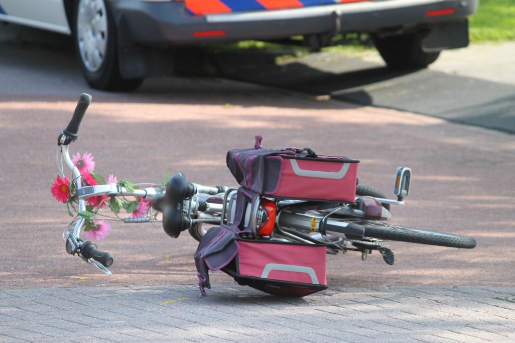 Vrouw gewond na ongeval