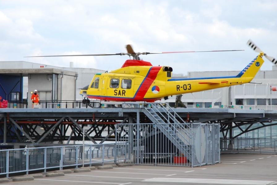 Defensie stopt met patiëntenvervoer met helikopters vanaf eilanden