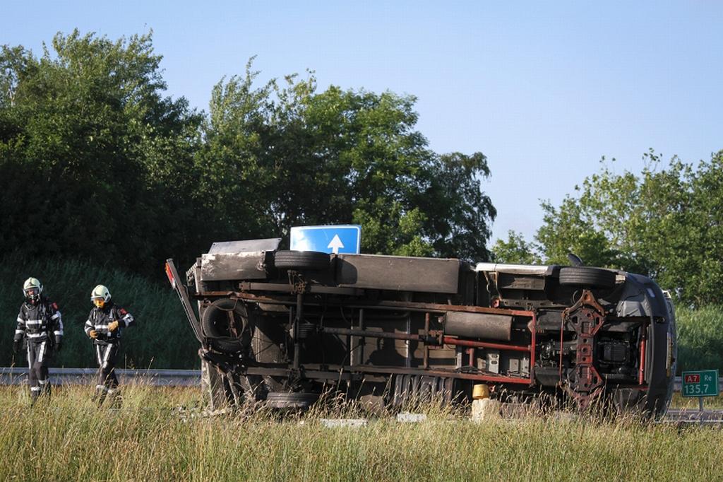 Dodelijk verkeersongeval knooppunt Joure