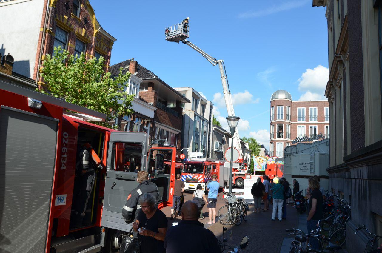 Loze brandmelding in de binnenstad