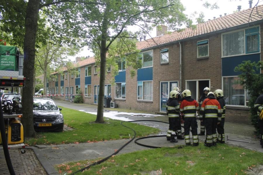 Veel schade na keukenbrand in woning