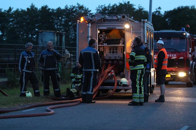 Stofexplosie bij grasdrogerij Oosterwolde
