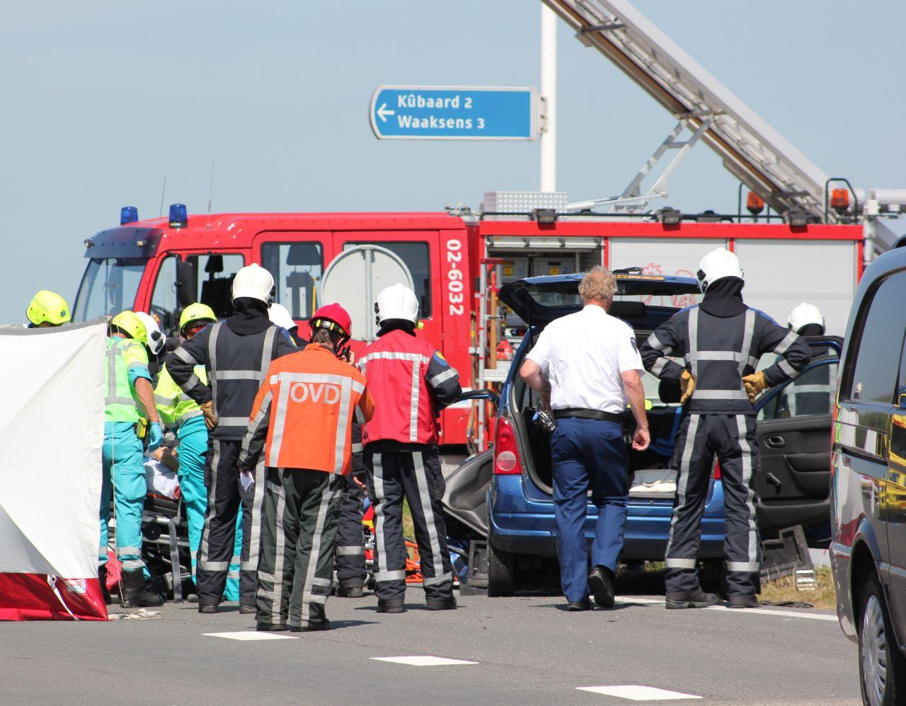 Tweede dodelijk slachtoffer door ongeval Westergoawei
