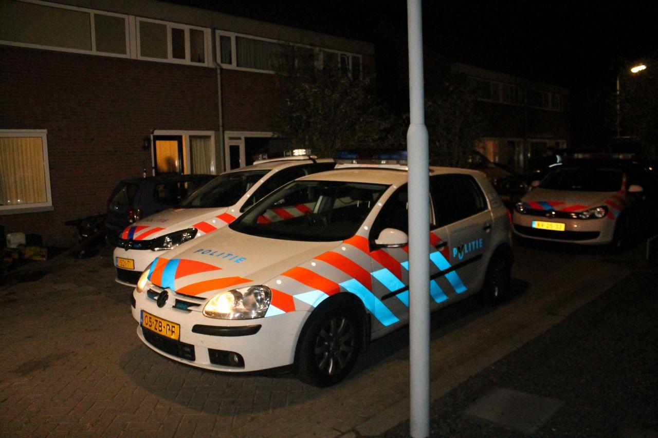 Politiemacht houdt man aan na verkeersruzie