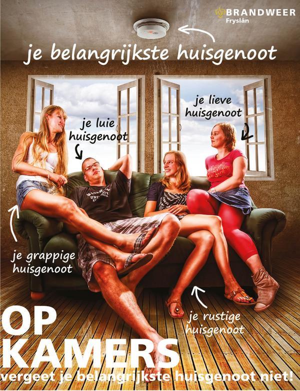 Brandweer Fryslân maakt studenten bewust