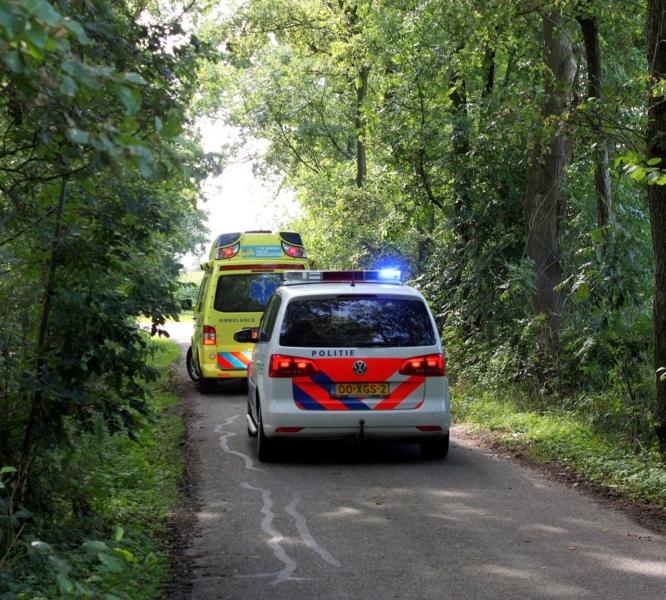 112Kort: Melding gaslekkage in Garyp en fietser te water in Burgum