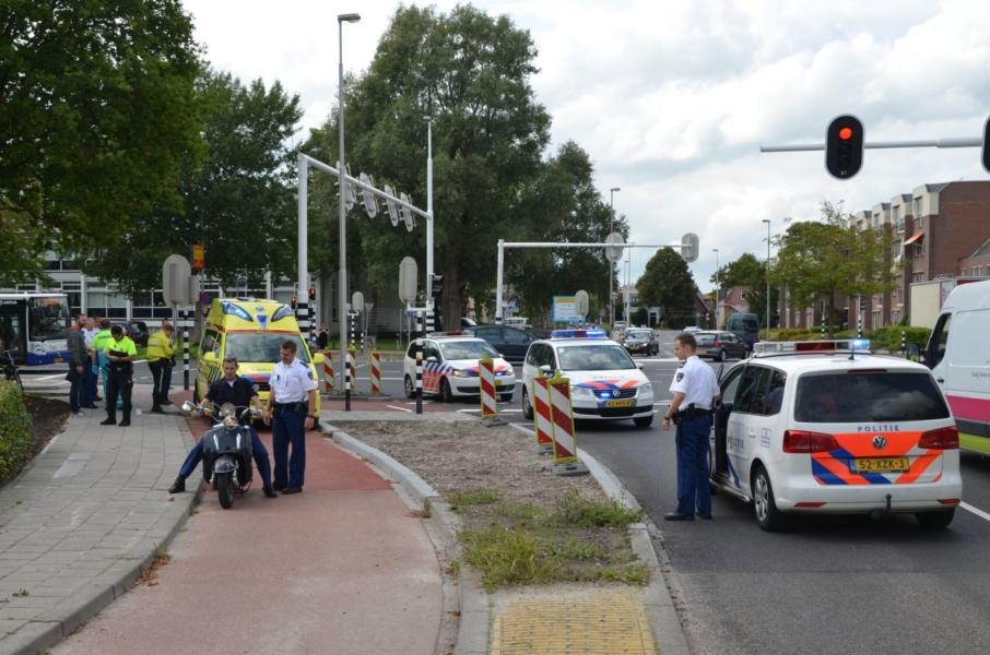 Scooterbestuurder onder invloed veroorzaakt ongeval