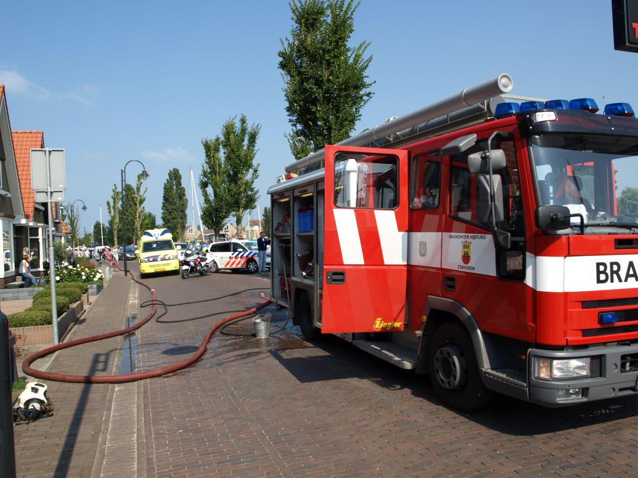 Twee gewonden bij explosie op boot