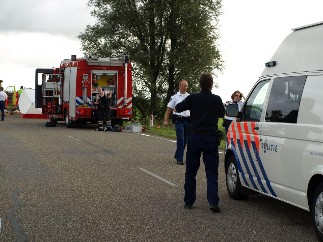 Jongen omgekomen bij eenzijdig ongeval