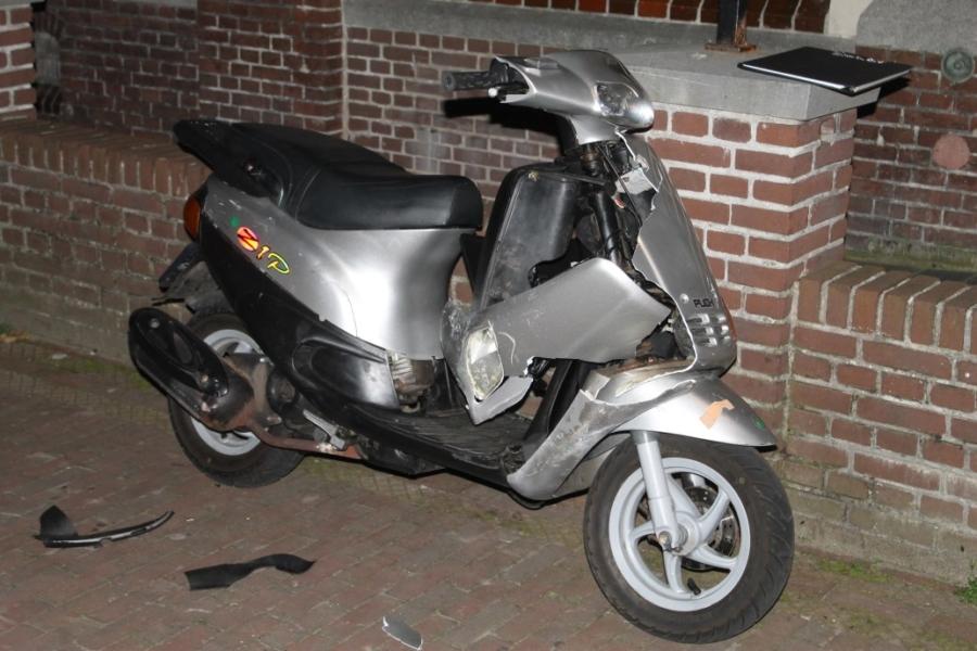 Drie gewonden bij ongeval met scooter
