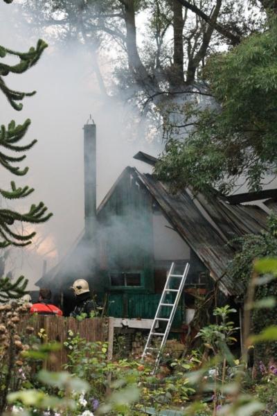 Drie schuurtjes verwoest door brand