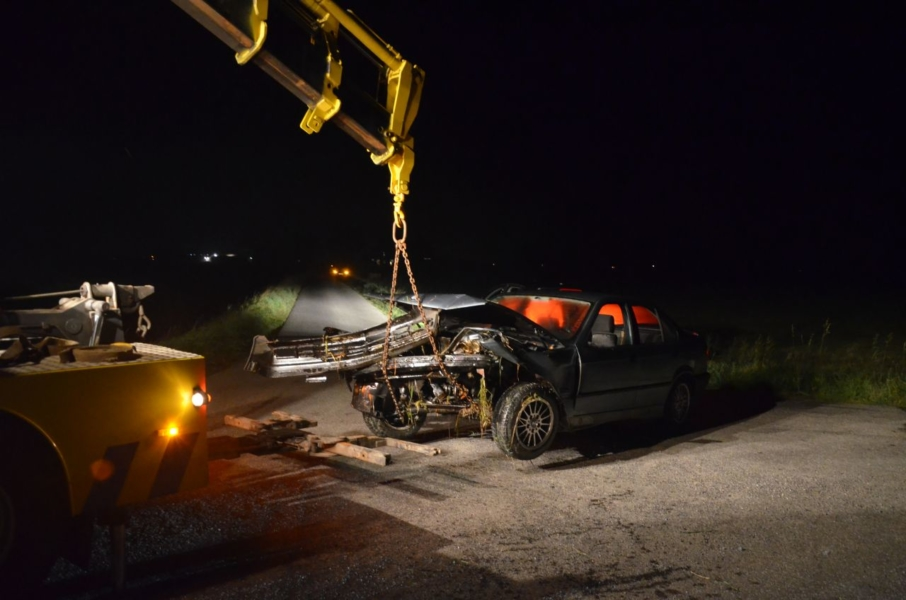Automobiliste zwaar gewond bij eenzijdig ongeval