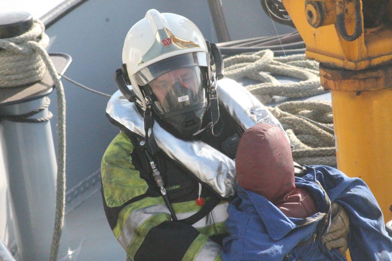 Bevelvoerders oefenen in Drachten