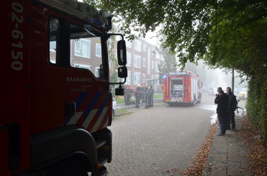 Alerte buren bellen brandweer na horen rookmelder