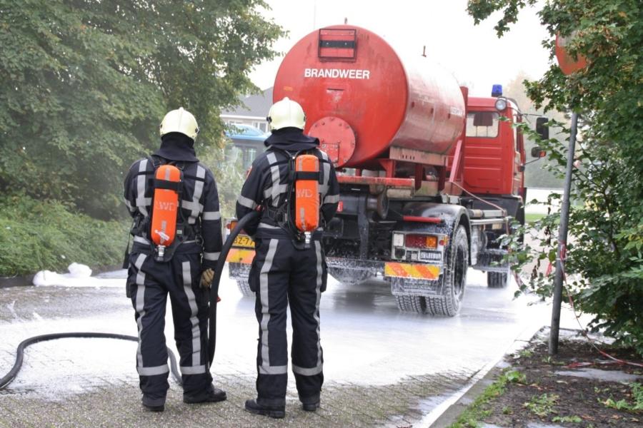 """""""Gewonde bij brandstoflekkage tankwagen"""""""