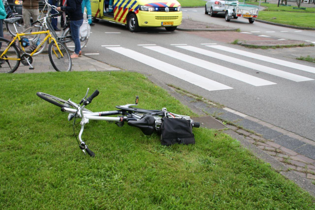 File door ongeval met fietser