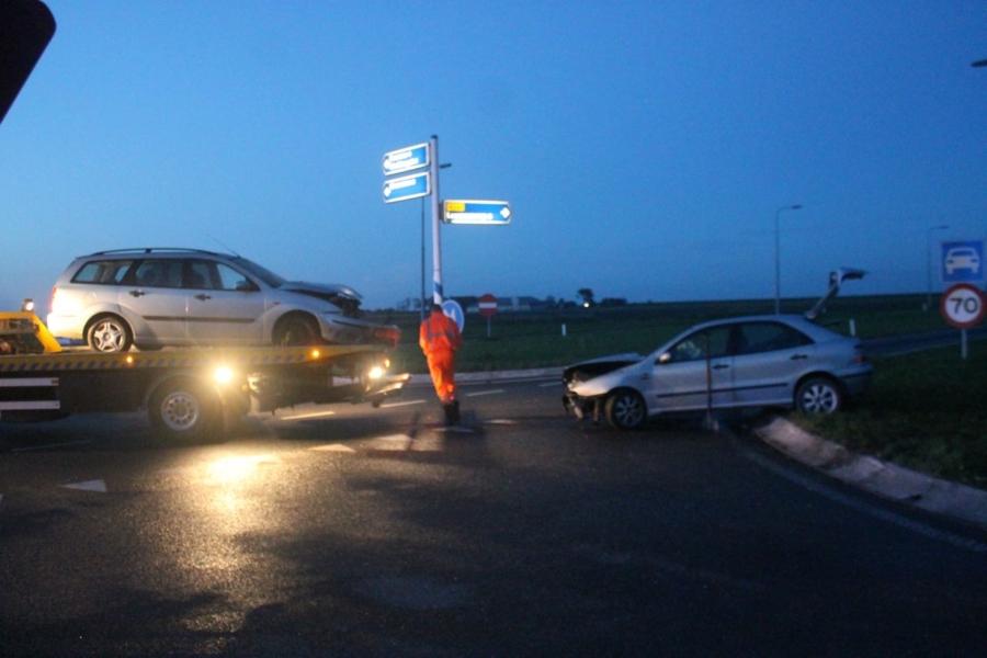 Twee gewonden bij ongeval op gevaarlijk kruispunt
