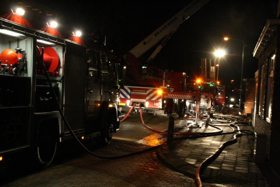 Veel schade door uitslaande dakbrand