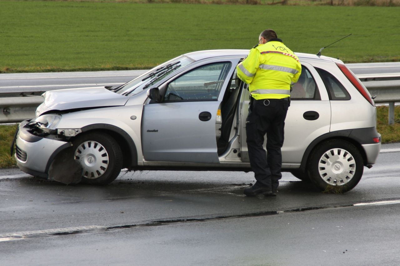 Meerdere ongevallen op A31 na hagelbui