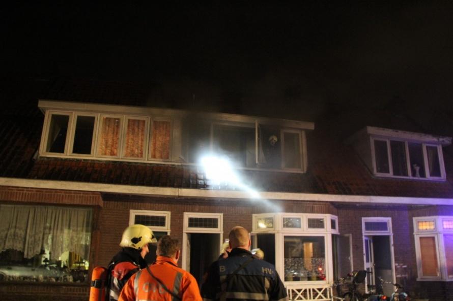 Keukenbrand: bewoners gewekt door rookmelder