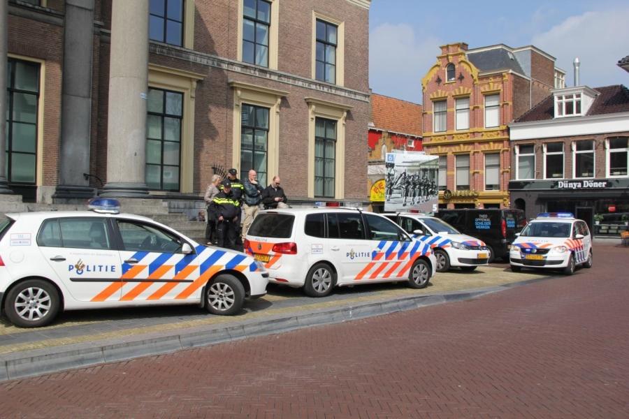 Opnieuw politieactie voor betere CAO