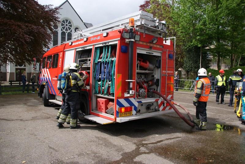 Brandweer wedstrijden in Heerenveen