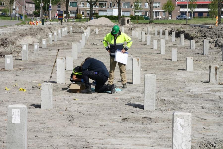 Menselijke resten gevonden op bouwplaats