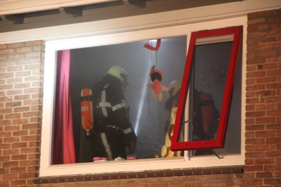 Keukenbrand door pannetje op het vuur