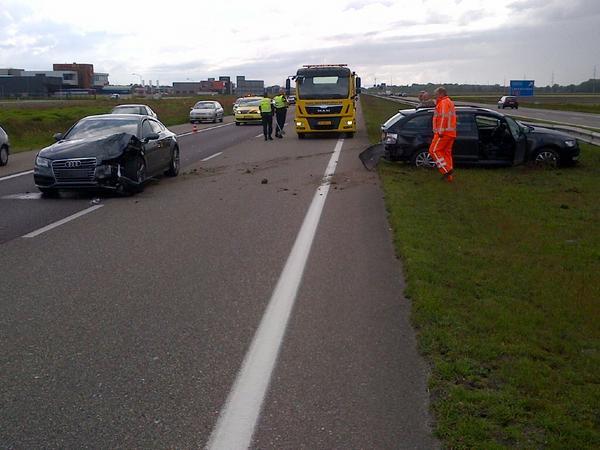File op A7 Heerenveen door ongeval