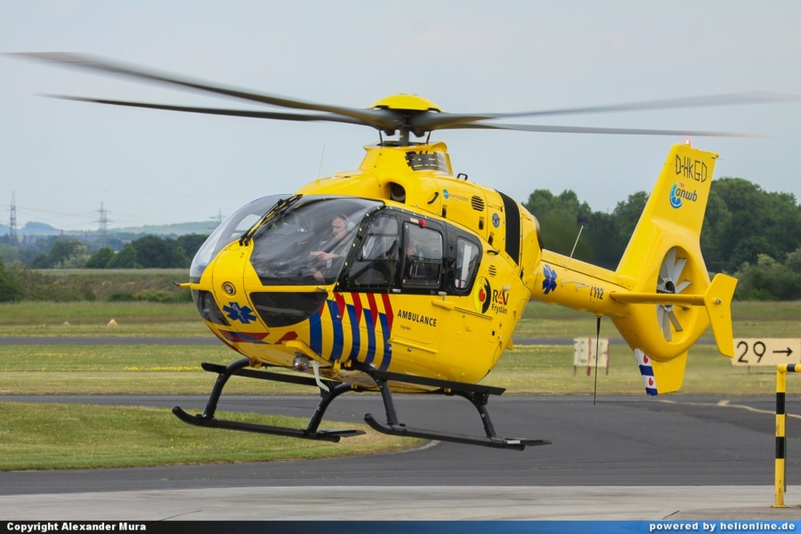 Eerste beelden nieuwe ambulanceheli