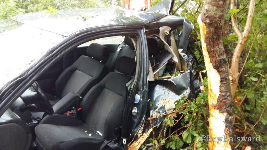 Traumahelikopter ingezet bij ongeval oprit A7