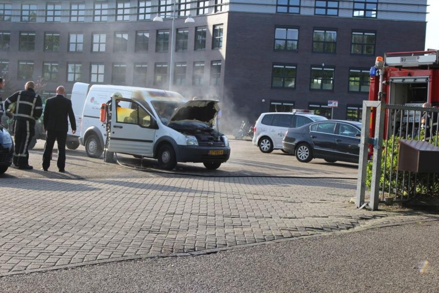112kort: Buitenbrand en autobrand