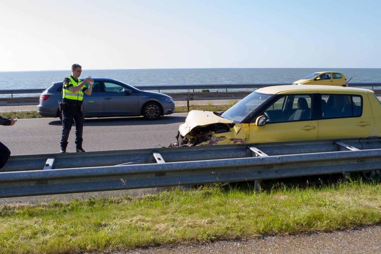 Ongeval op Afsluitdijk