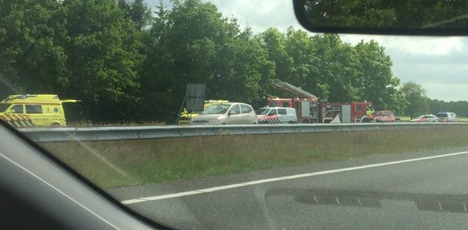 Ernstig ongeval op A7