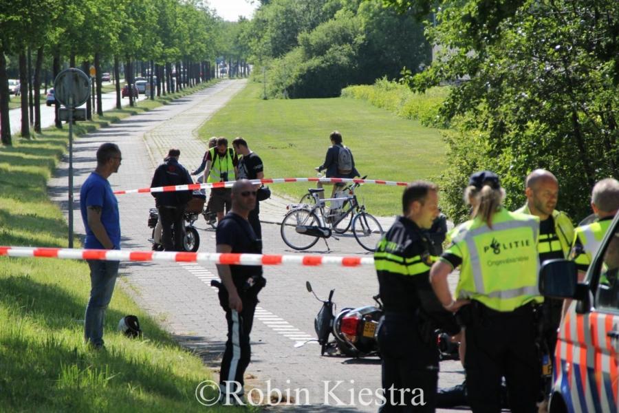 Twee gewonden bij ongeval op fietspad