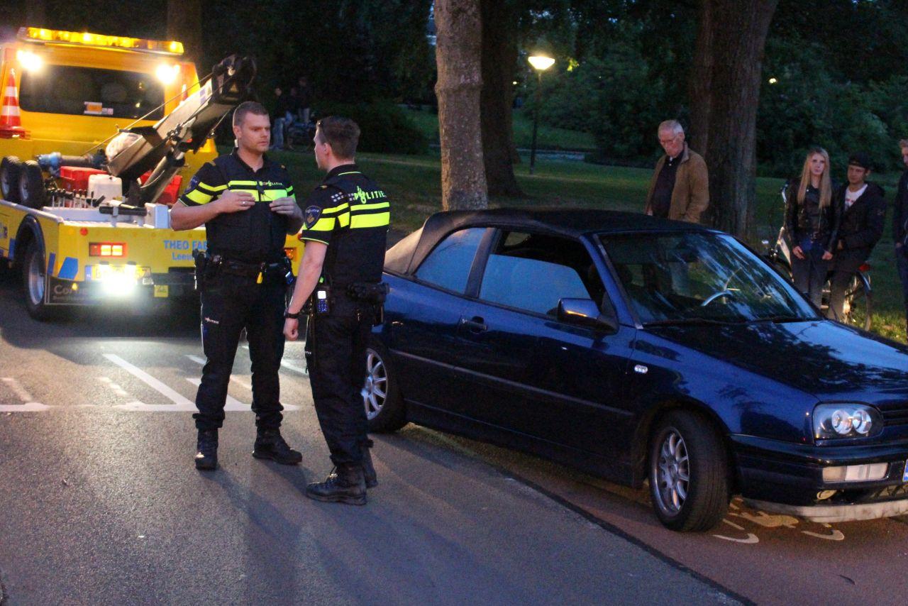 Inzittenden auto gevlucht na ongeval