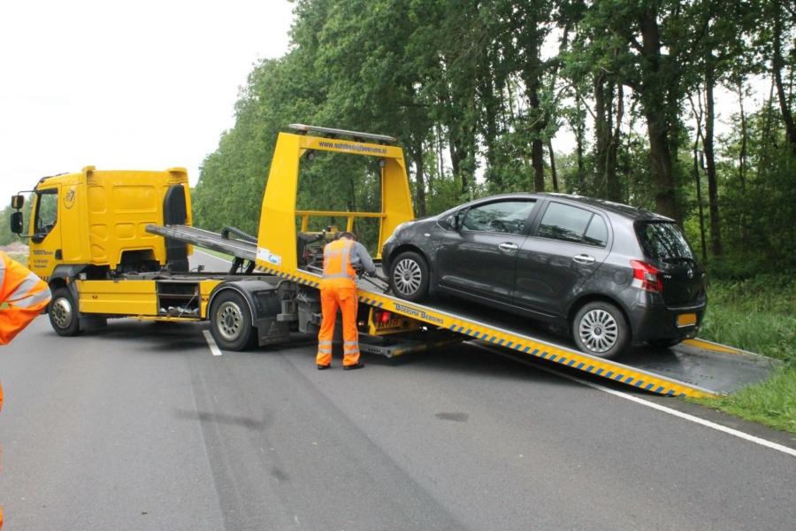 Runwei – N356 tijdelijk dicht door ongeval