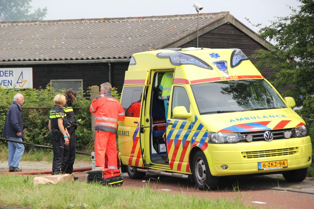 Man ernstig gewond na ontploffing in boothuis