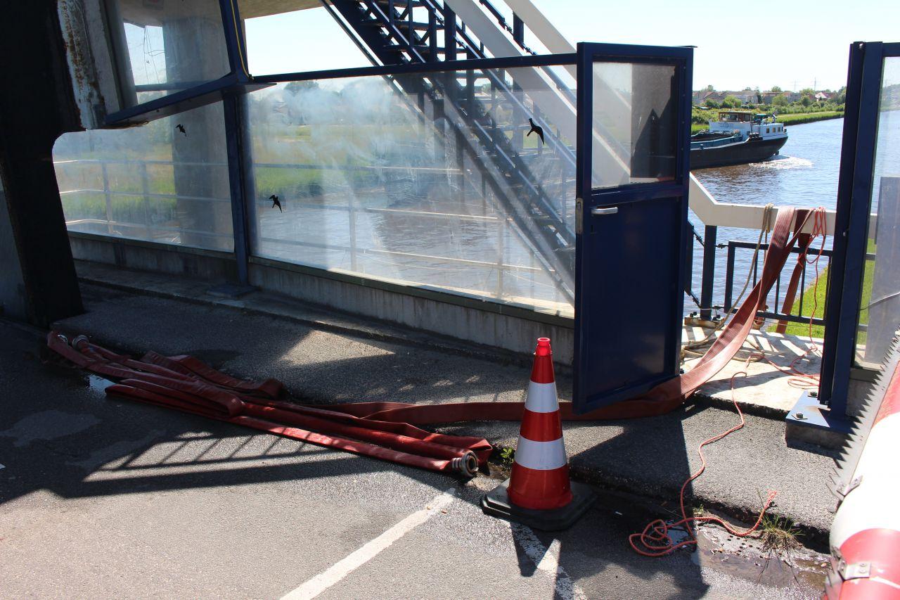 Ongeval door storing in de Drachtsterbrug