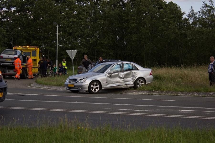 Drie gewonden bij ernstig ongeval op de Litswei