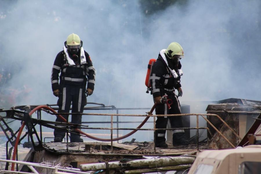 Opnieuw brand in Leeuwarder jachthaven