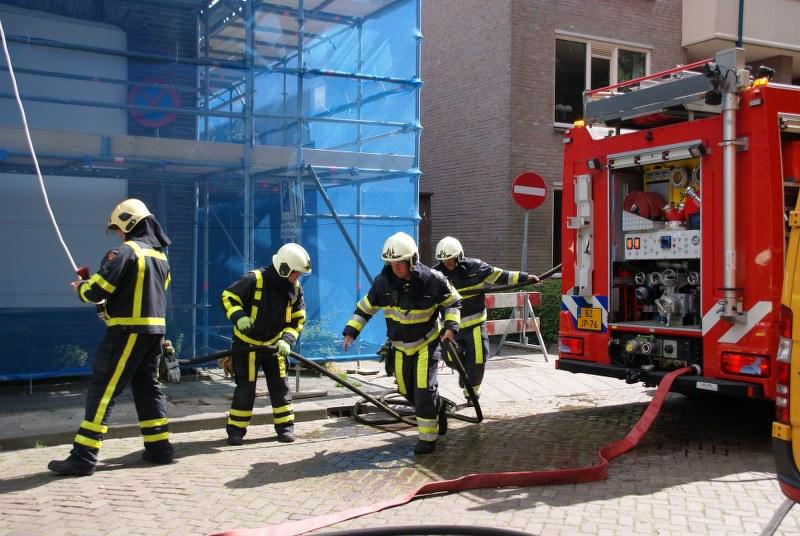 Brandgerucht blijkt daadwerkelijk brand